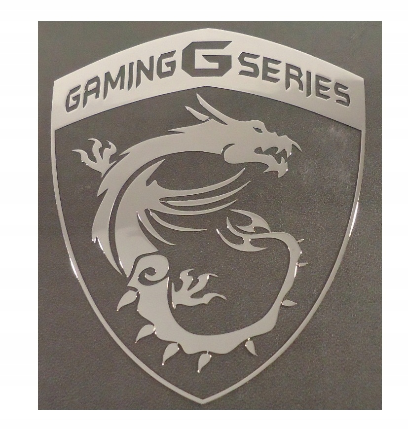 Nálepka Gaming G Series Metal Edition 77 x 93 mm