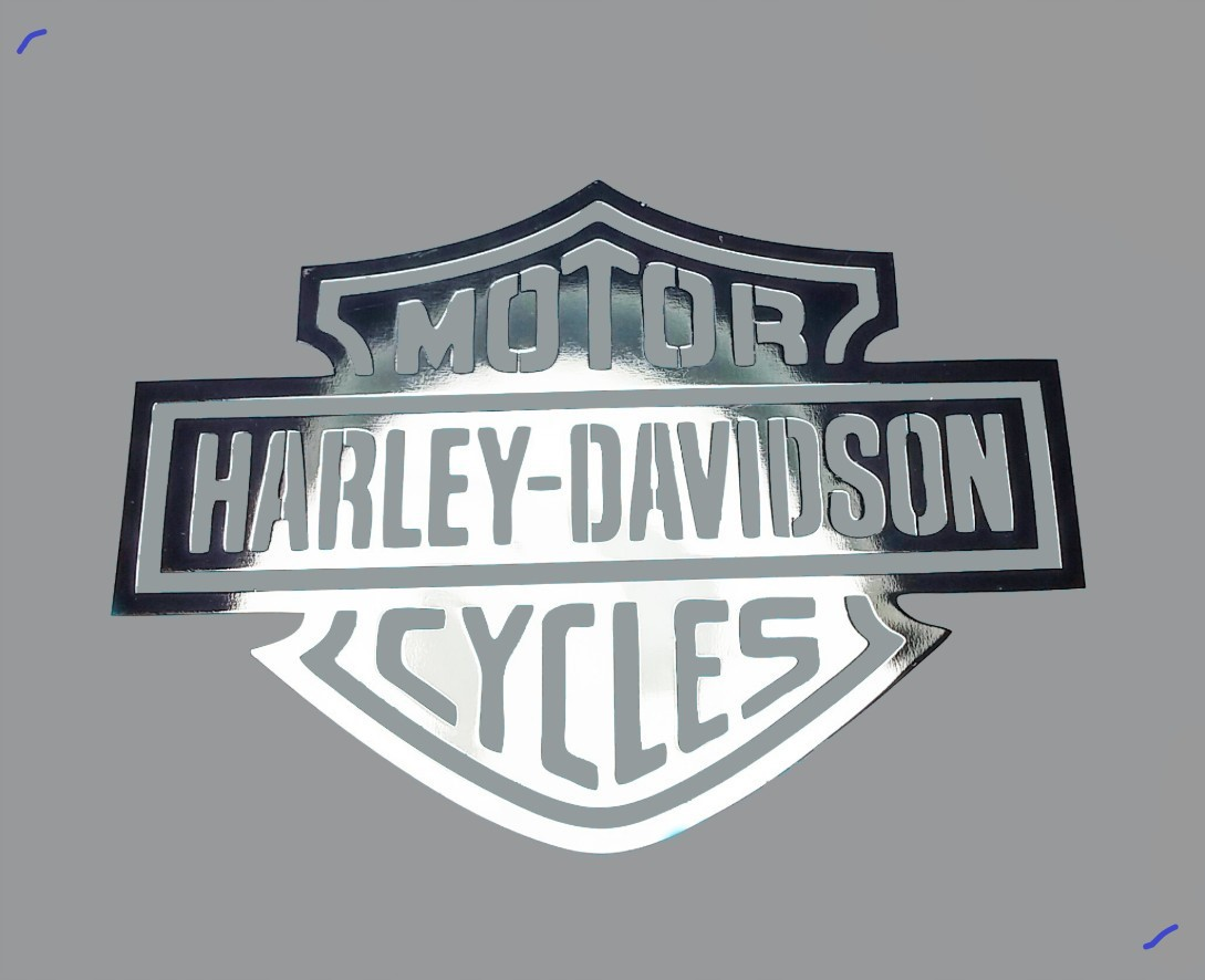 HARLEY-DAVIDSON CYCLES nalepka Metal Edition