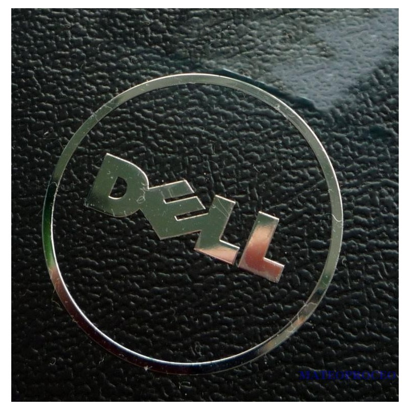 DELL LOGO nalepka CHROM Edition