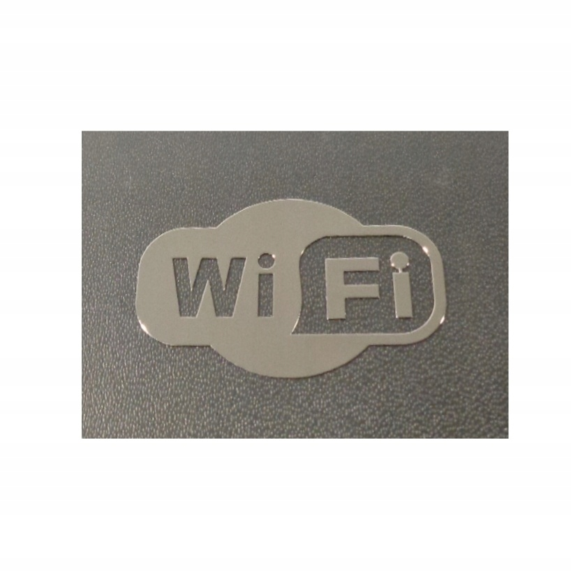 Nálepka WiFi Metal Edition 30 x 20 mm