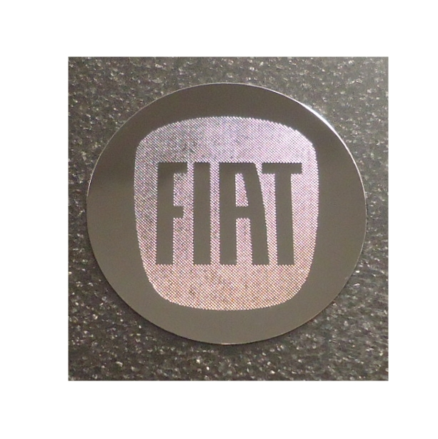 FIAT LOGO nalepka Metal Edition 30mm