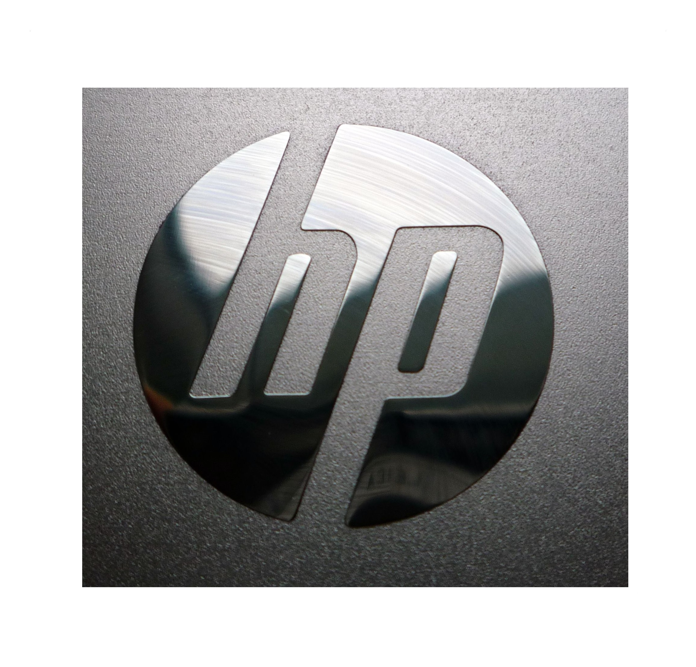 Nálepka HP LOGO Metal Edition