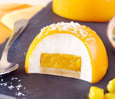 Luxury dessert Coconut Mango / 5 ks