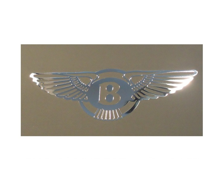 Nálepka BENTLEY LOGO Metal Edition 70x22 mm