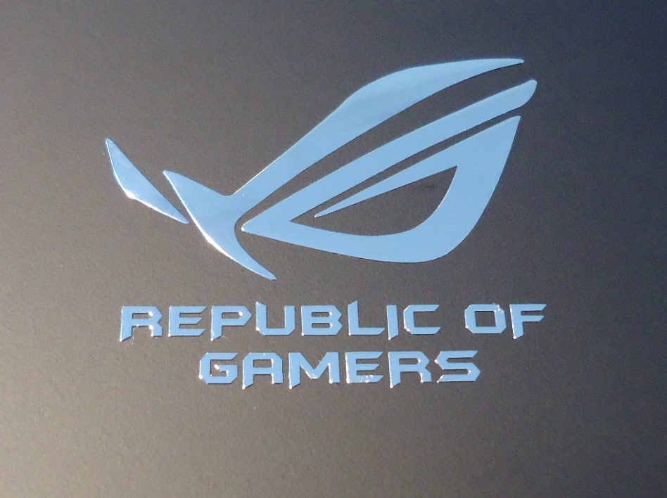 ASUS REPUBLIC OF GAMERS nalepka Metal Edition