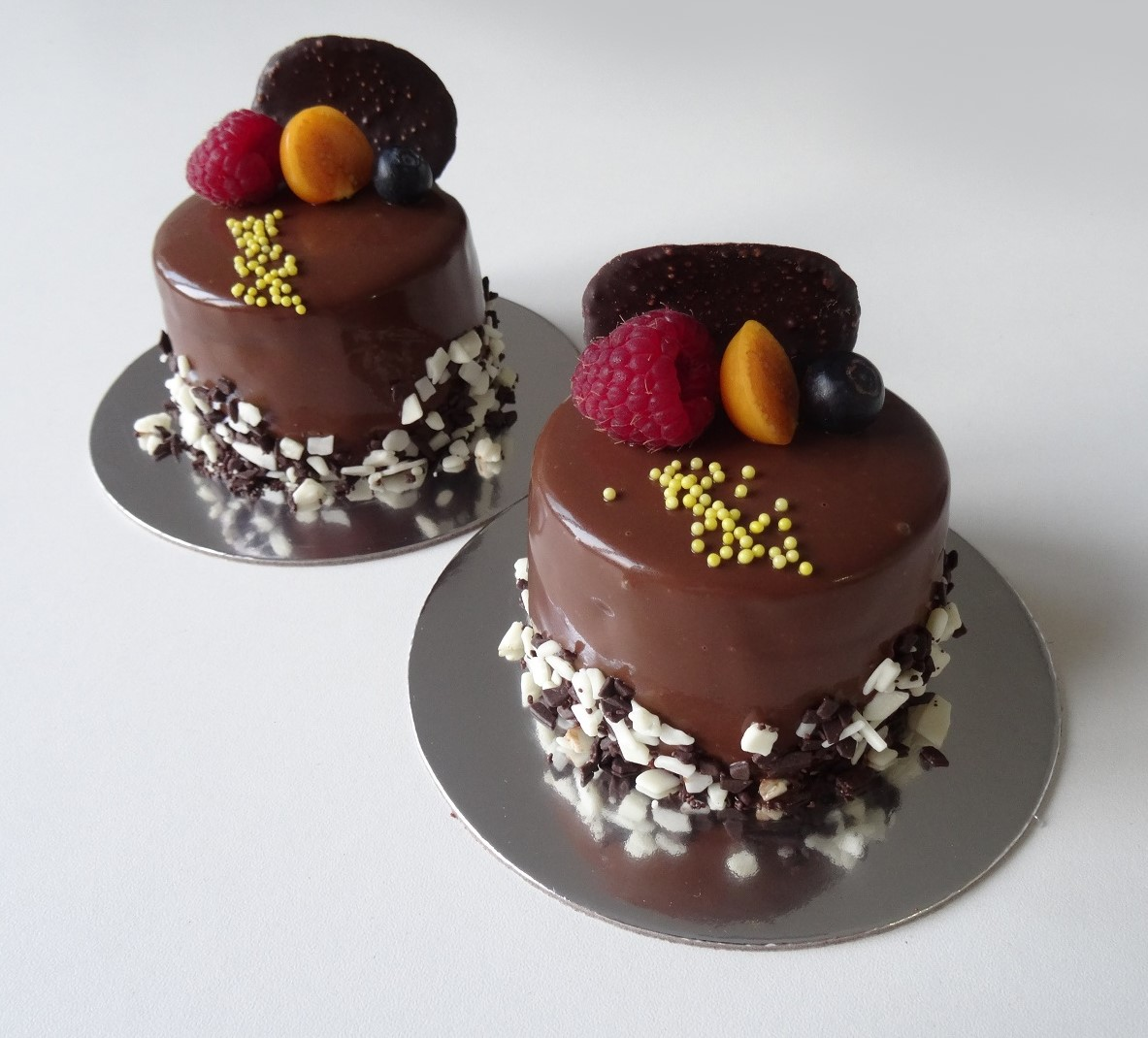 Luxury dessert Chocolate berry / 5 ks