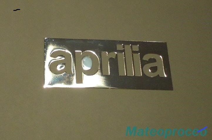 APRILIA nalepka Metal Edition 35 x 15 mm