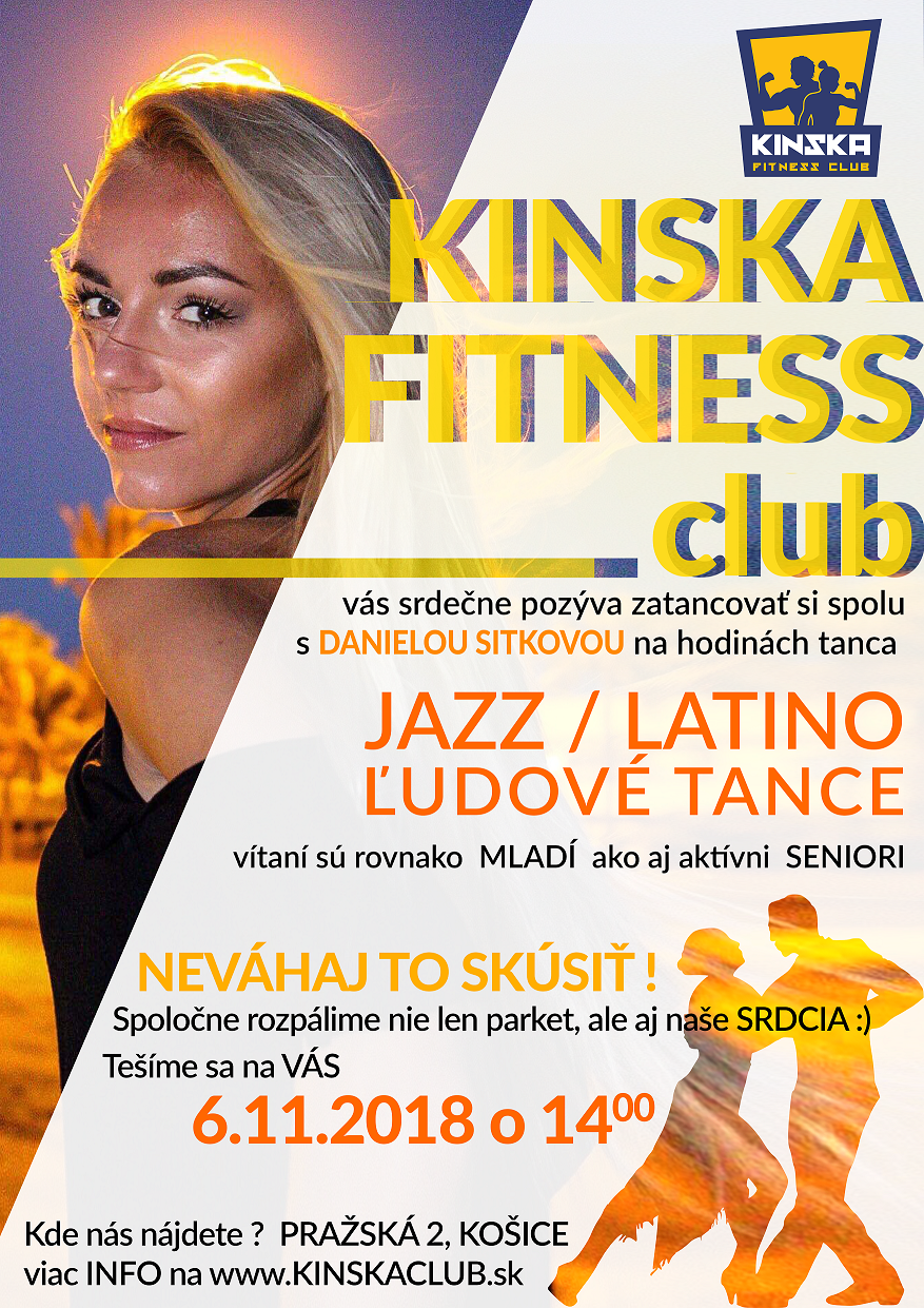 tanec kinska fitness club
