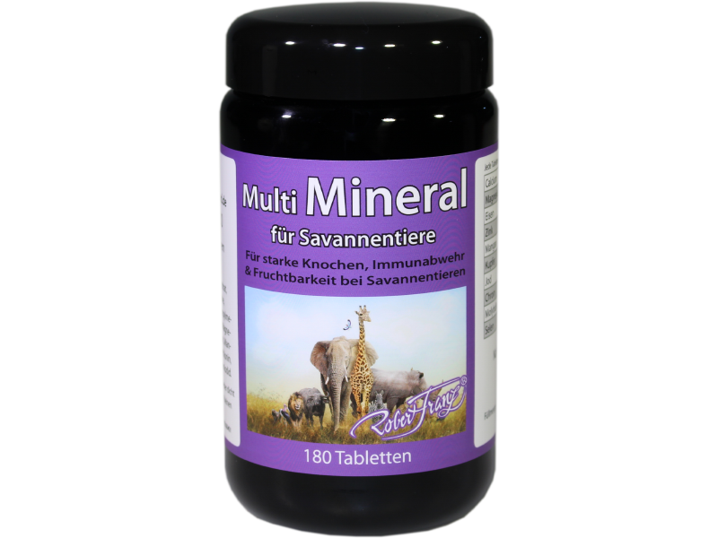 Multimineral für Savannentiere – 180 Tabletten