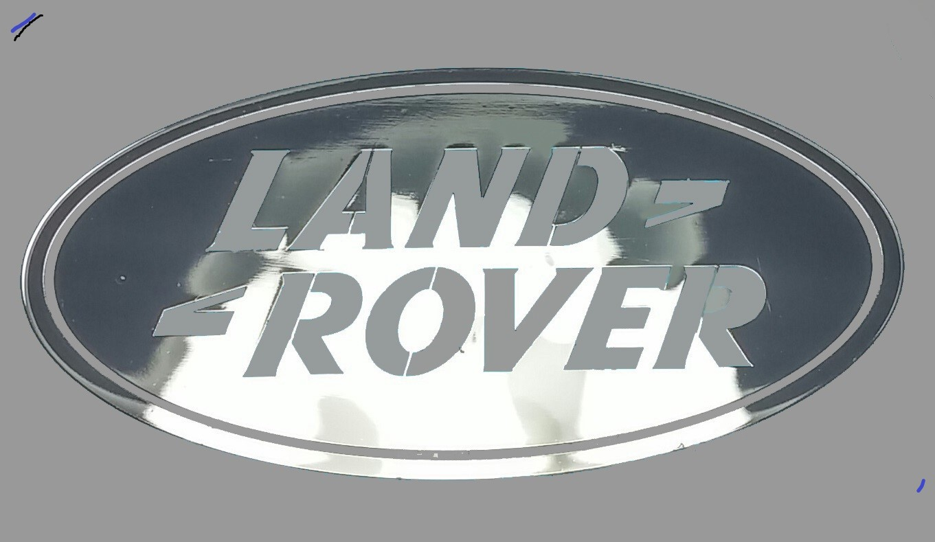 LAND ROVER LOGO nalepka Metal Edition