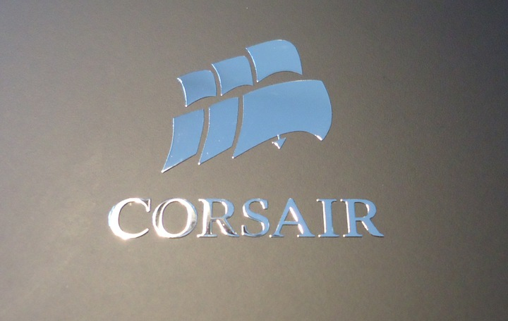 Nálepka CORSAIR LOGO Metal Edition 30x28mm