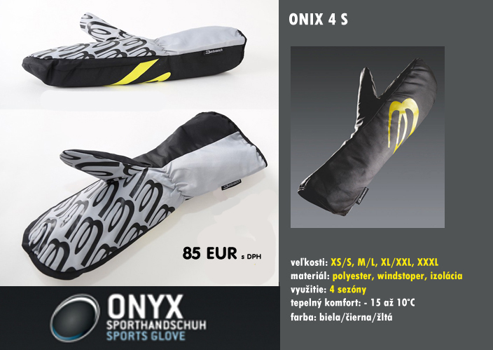 Paragliding OVERGLOVES ONYX 4S