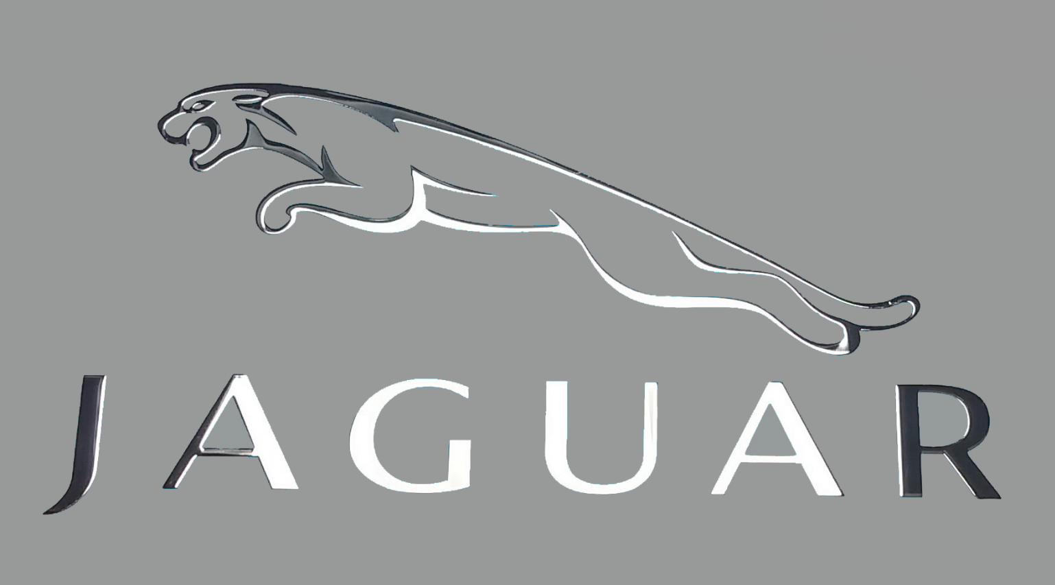 JAGUAR LOGO nalepka Metal Edition CHROM